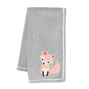 Lambs & Ivy Friendship Tree Blanket