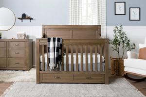 Million Dollar Baby Classic  Wesley Farmhouse 4-in-1 Convertible Crib