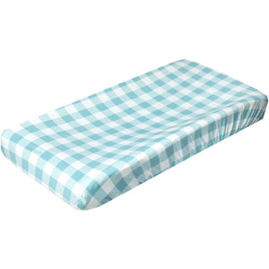 Copper Pearl Premium Diaper Changing Pad Cover - Lincoln