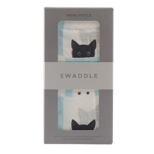 Newcastle Classics Swaddle Peek A Boo Cats