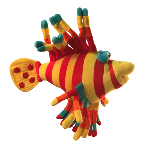 Funny Friends Tiger Fish Large Mobile (color may vary)