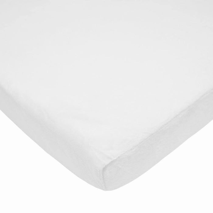 Brixy Heavenly Soft Chenille Porta-Crib Sheet