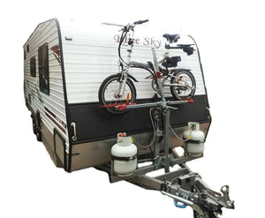 "1-Bike ""Caravan Bike Rack"" – Non Tilting - GripSport Bike Rack and Bolt On Mount Kit"
