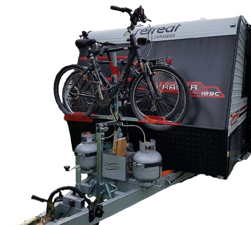 "2-Bike ""Caravan Bike Rack"" – Non Tilting - GripSport Bike Rack and Bolt On Mount Kit"