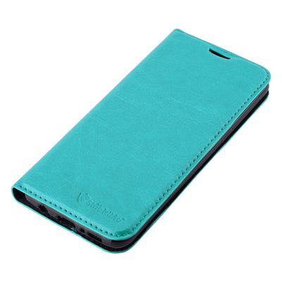 Anti-Radiation RFID Samsung Wallet Case (Teal, Samsung Galaxy S8)