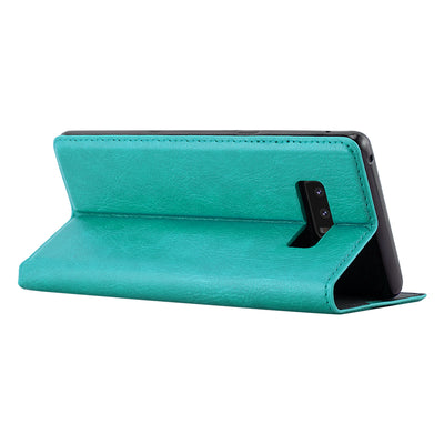 Anti-Radiation RFID Samsung Wallet Case (Teal, Samsung Note 8)