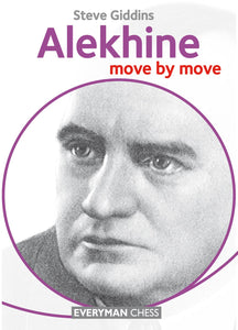 Alekhine: move by move front cover
