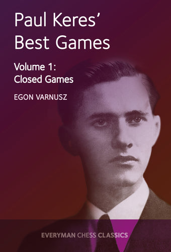 Paul Keres' Best Games, Volume 1 front cover
