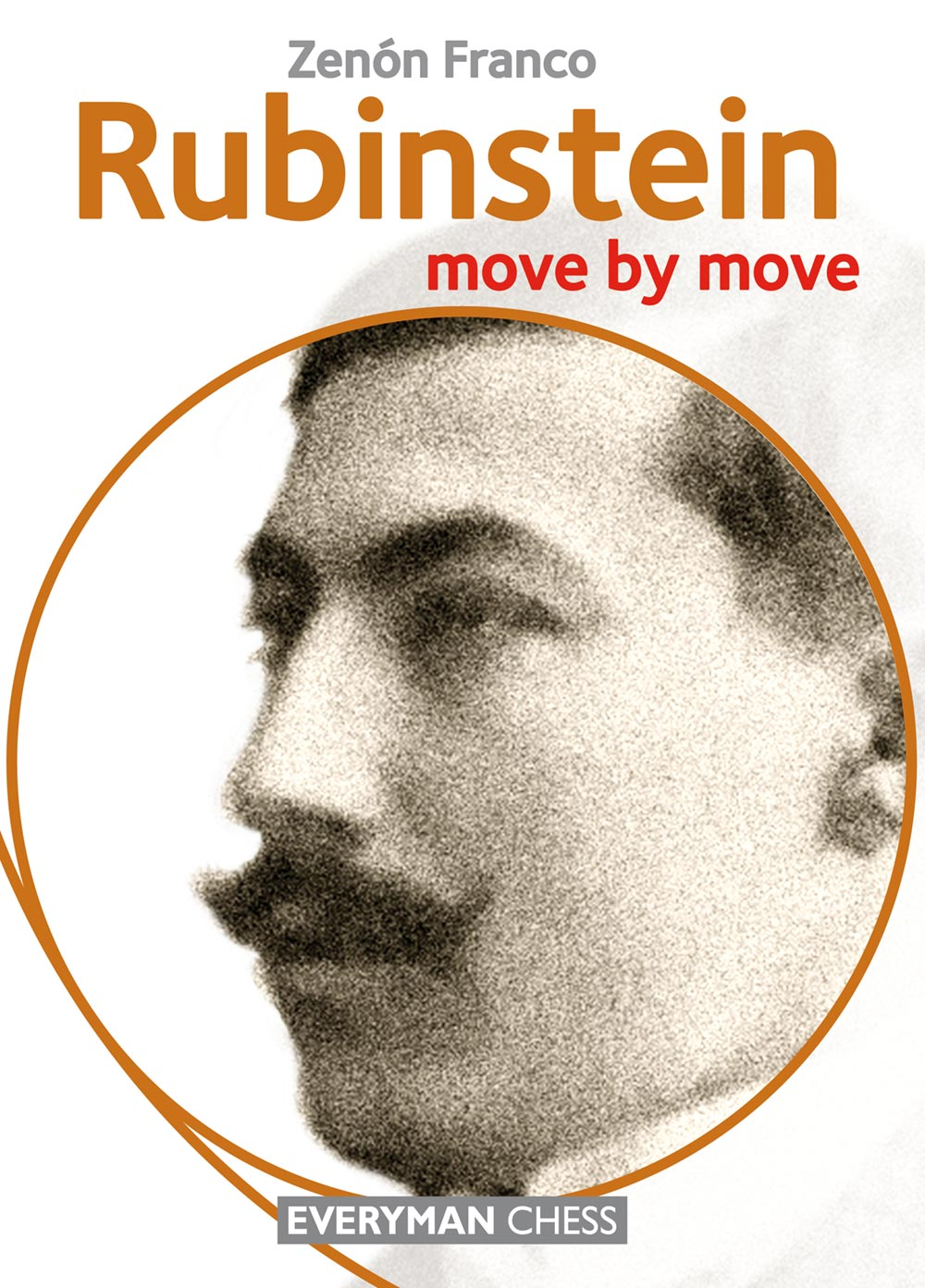 Rubinstein: move by move front cover