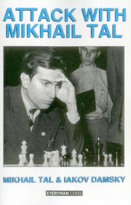 Attack with Mikhail Tal front cover