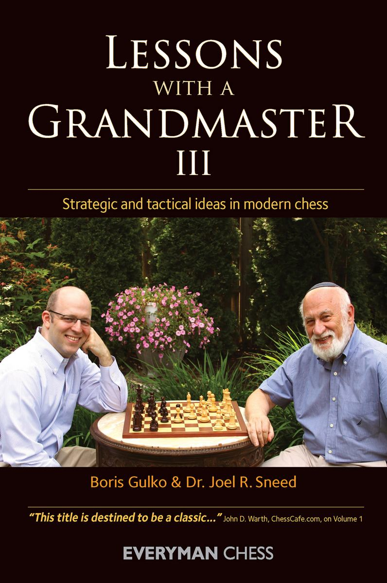 Lessons with a Grandmaster 3 book cover