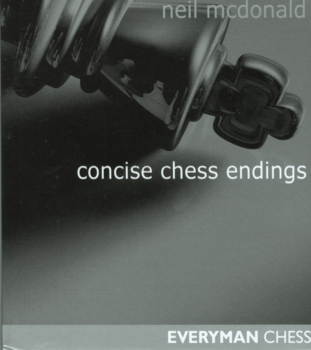 Concise Chess Endings front cover