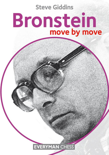 Bronstein: Move by Move front cover