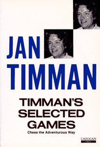 Timman's Selected Games front cover