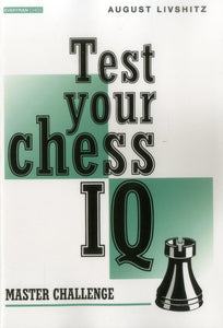 Test Your Chess IQ: Master Challenge front cover