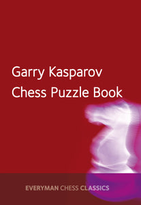 Garry Kasparov's Chess Puzzle Book front cover