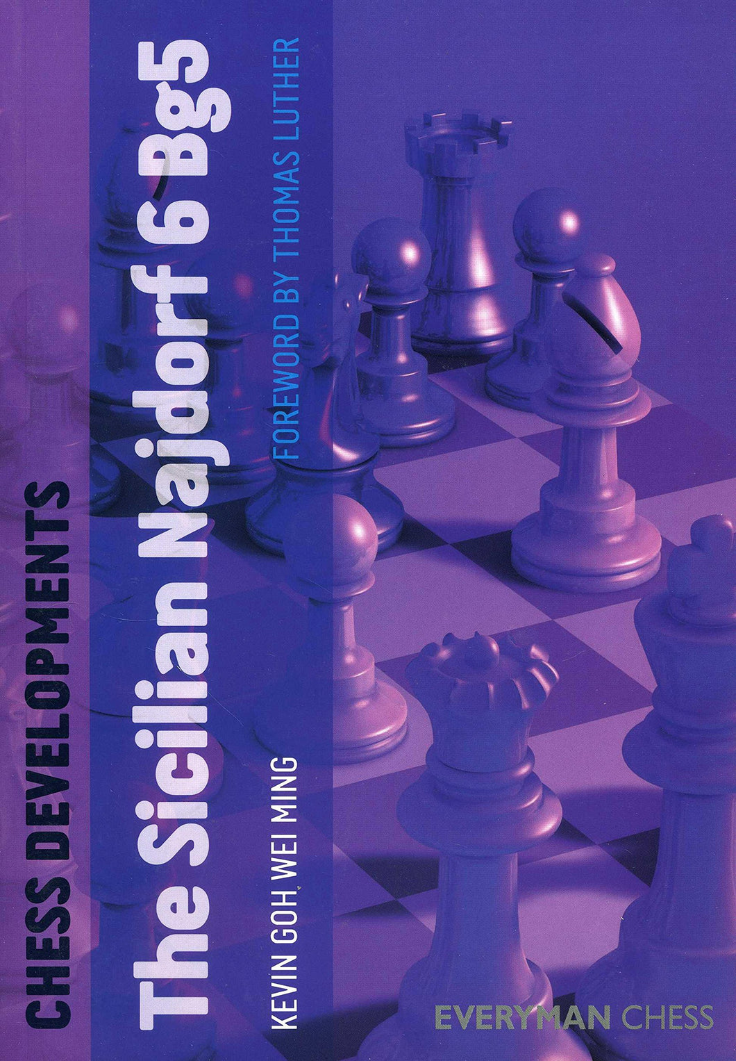 Chess Developments: Sicilian Najdorf 6 Bg5 front cover
