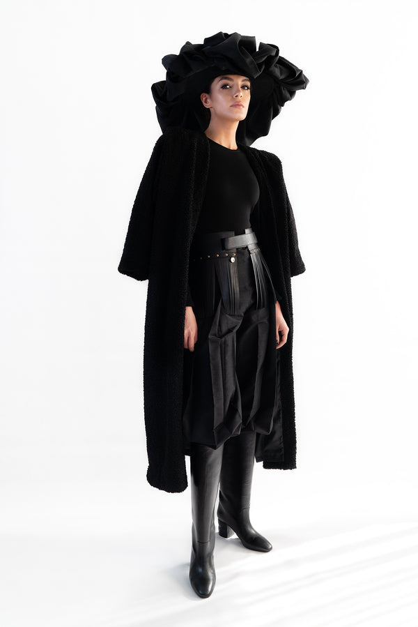 Khatoon Teddy Long Coat