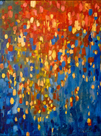 Fire and Flood (Original Sold)