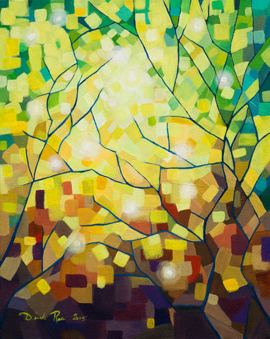 Stained Glass Forest (Original Sold)