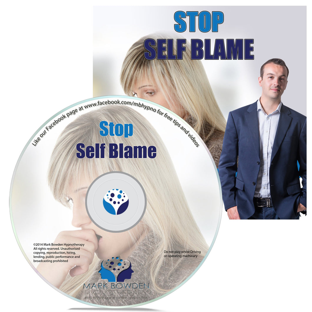 Stop Self Blame Self Hypnosis CD / MP3 and APP (3 IN 1 PURCHASE!)