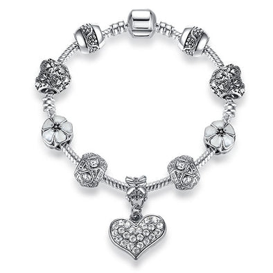 TRENDY STERLING SILVER WOMEN MAKEUP FASHION BRACELET !!!! - LovelySelena.Com