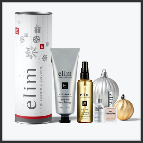 Need a Gift for the Holidays? Get a Free Elim Shimmering Gold Spritz.