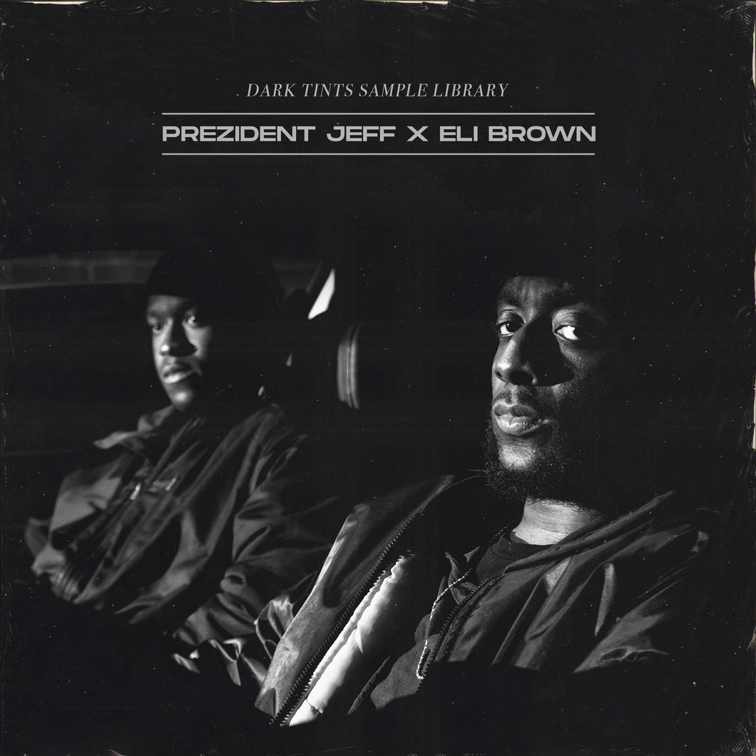 PREZIDENT JEFF X ELI BROWN - DARK TINTS SAMPLE LIBRARY [ OLD PACK NOT THE SAME QUALITY ]