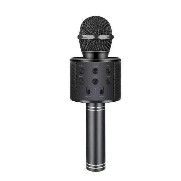 Wireless Portable Handheld Bluetooth Karaoke Microphone For Kids