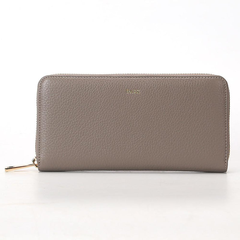 LEATHER WALLET GREY