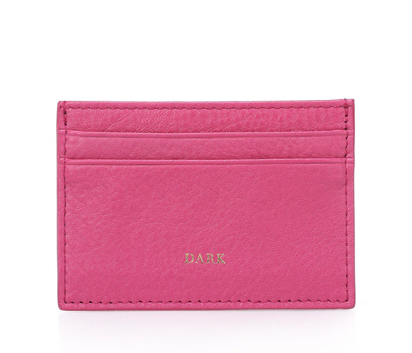 LEATHER CARD HOLDER WILDBERRY