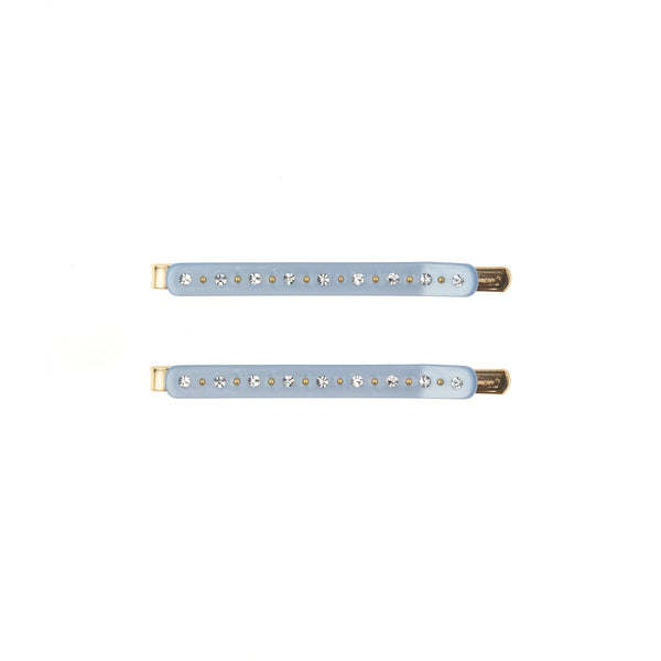 CRYSTAL BOBBY PINS 2 PK 501 BLUE
