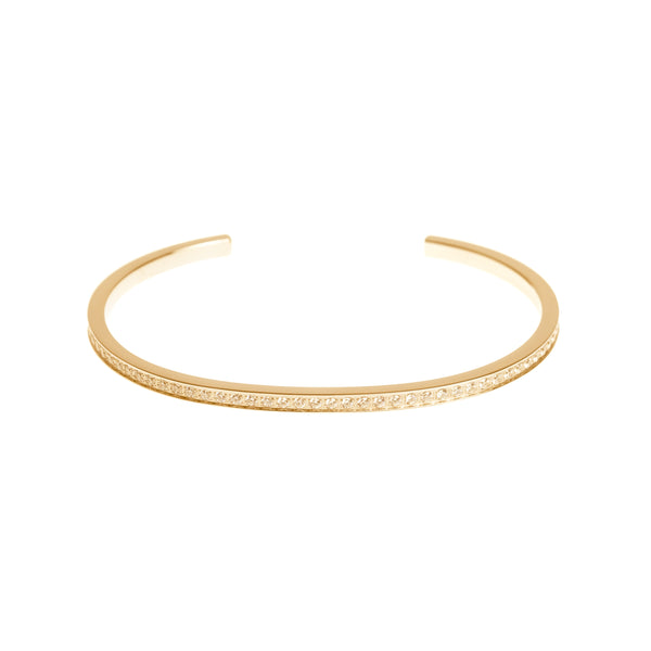 CRYSTAL BANGLE GOLD