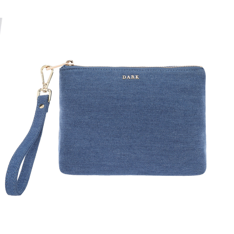 DENIM STANDING POUCH DENIM