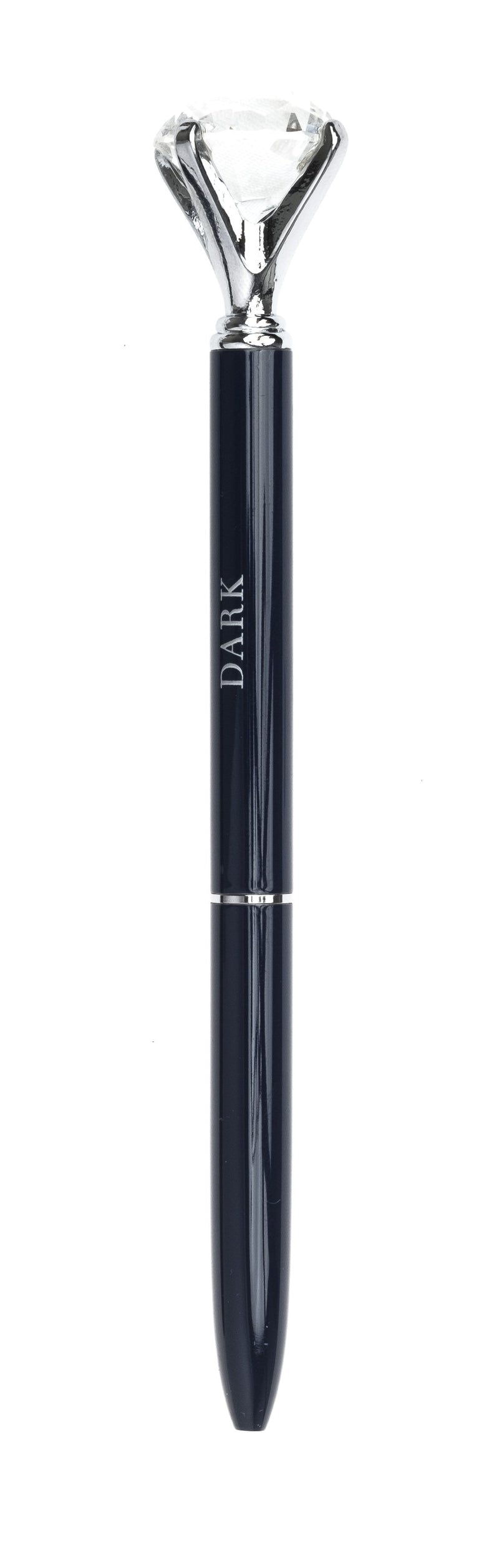 DIAMOND PEN NAVY BLUE W/SILVER