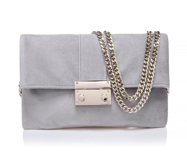 VELVET LOVE BAG ELEPHANT GREY