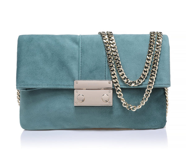 VELVET LOVE BAG TEAL