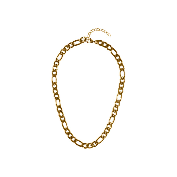 FIGARO NECKLACE GOLD 45 CM