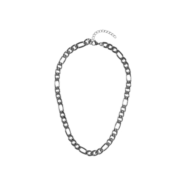 FIGARO NECKLACE SILVER 45 CM