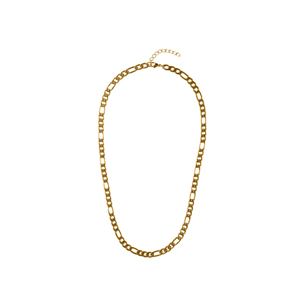 FIGARO NECKLACE THIN GOLD 55 CM