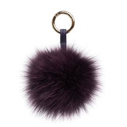 POM POM FOX RICH PLUM