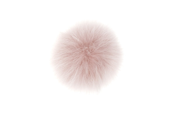SHOE POM POM BLUSH ROSE LARGE