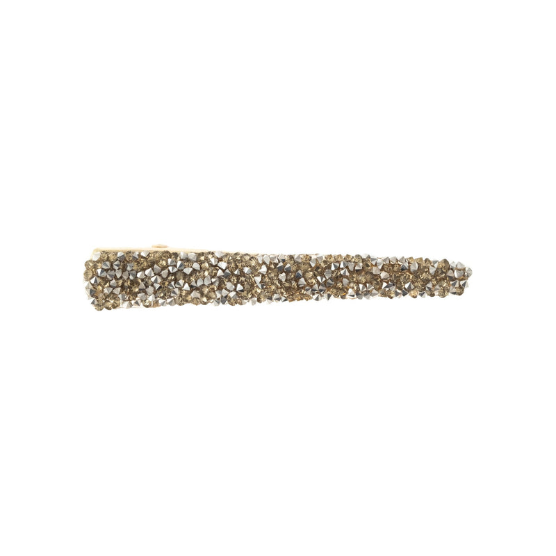 FULL BLING HAIR CLIP SPARKLED SILVER & GOLD