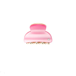 HAIR CLAW SMALL PALE PINK