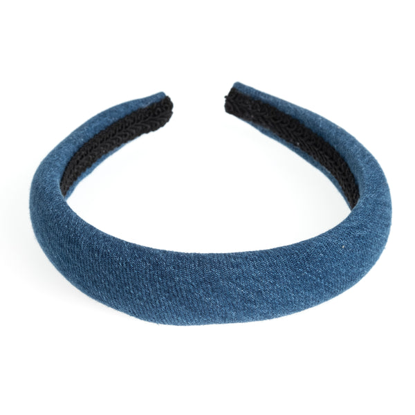 DENIM HAIR BAND BROAD DENIM