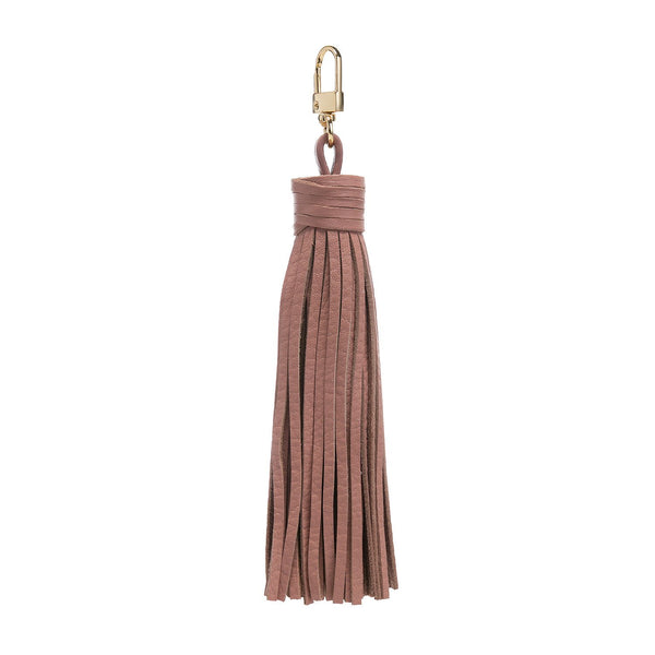 LEATHER TASSEL ROSE