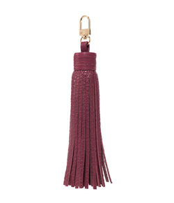 LEATHER TASSEL WINE