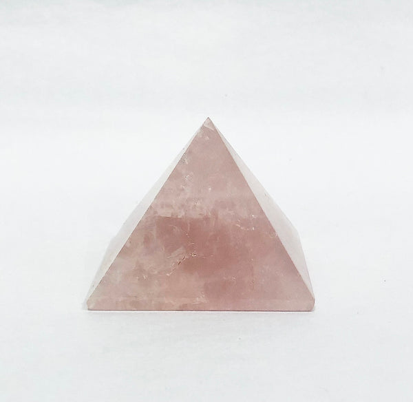 ROSE QUARTZ CRYSTAL PYRAMIDE 2