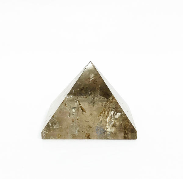 SMOKY QUARTZ CRYSTAL PYRAMIDE 1