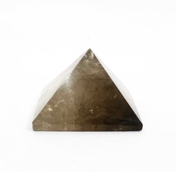 SMOKY QUARTZ CRYSTAL PYRAMIDE 2